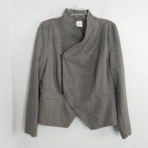 Cabi Gray Ponte rebel jacket 3556 Large
